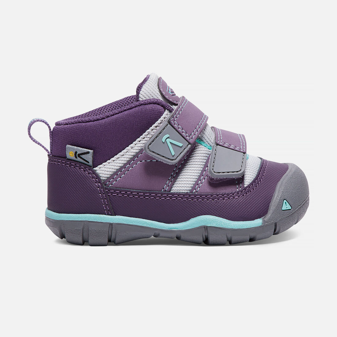 Toddlers' Peek-A-Shoe in Purple Plumeria/Sweet Lavender - large view.