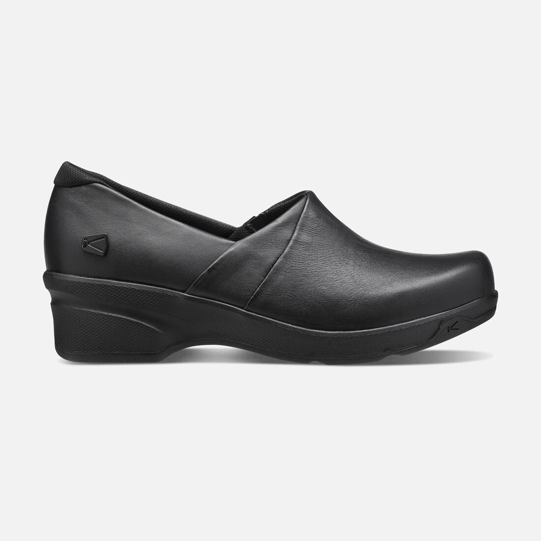 Women's Mora Service Clog in Black - large view.