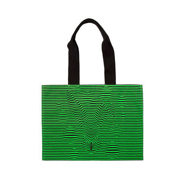 Magic Hare Canvas Bag Green image