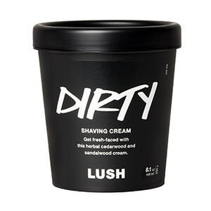 Dirty Shaving Cream