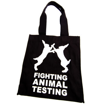 Fighting Animal Testing Bag image