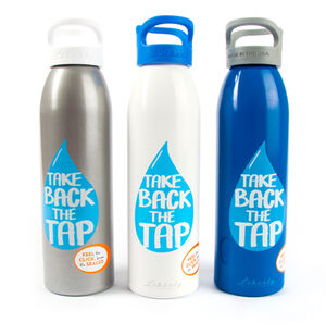 Take Back The Tap Reusable Water Bottle