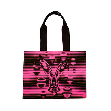 Magic Hare Canvas Bag Pink image