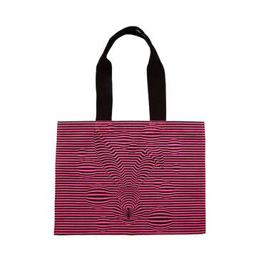 Magic Hare Canvas Bag Pink image