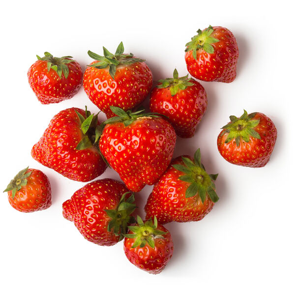 Image of Fresh Strawberries (Fragaria vesca)
