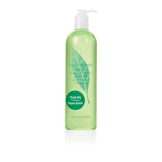 Green Tea Energizing Mega Bath and Shower Gel, , large