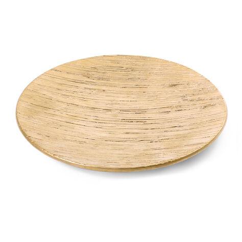 EMBOSSED CERAMIC PLATE