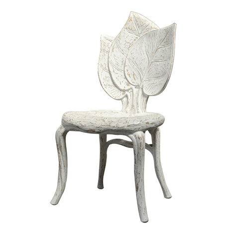 SET OF 6 LEAF DINING CHAIRS