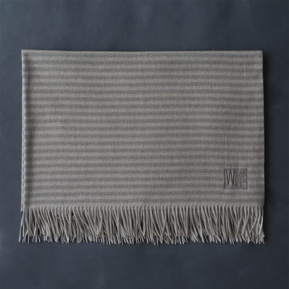 MELANGE CASHMERE THROW