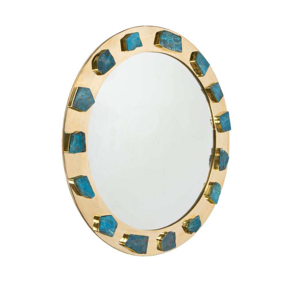 Bejeweled Apatite Mirror