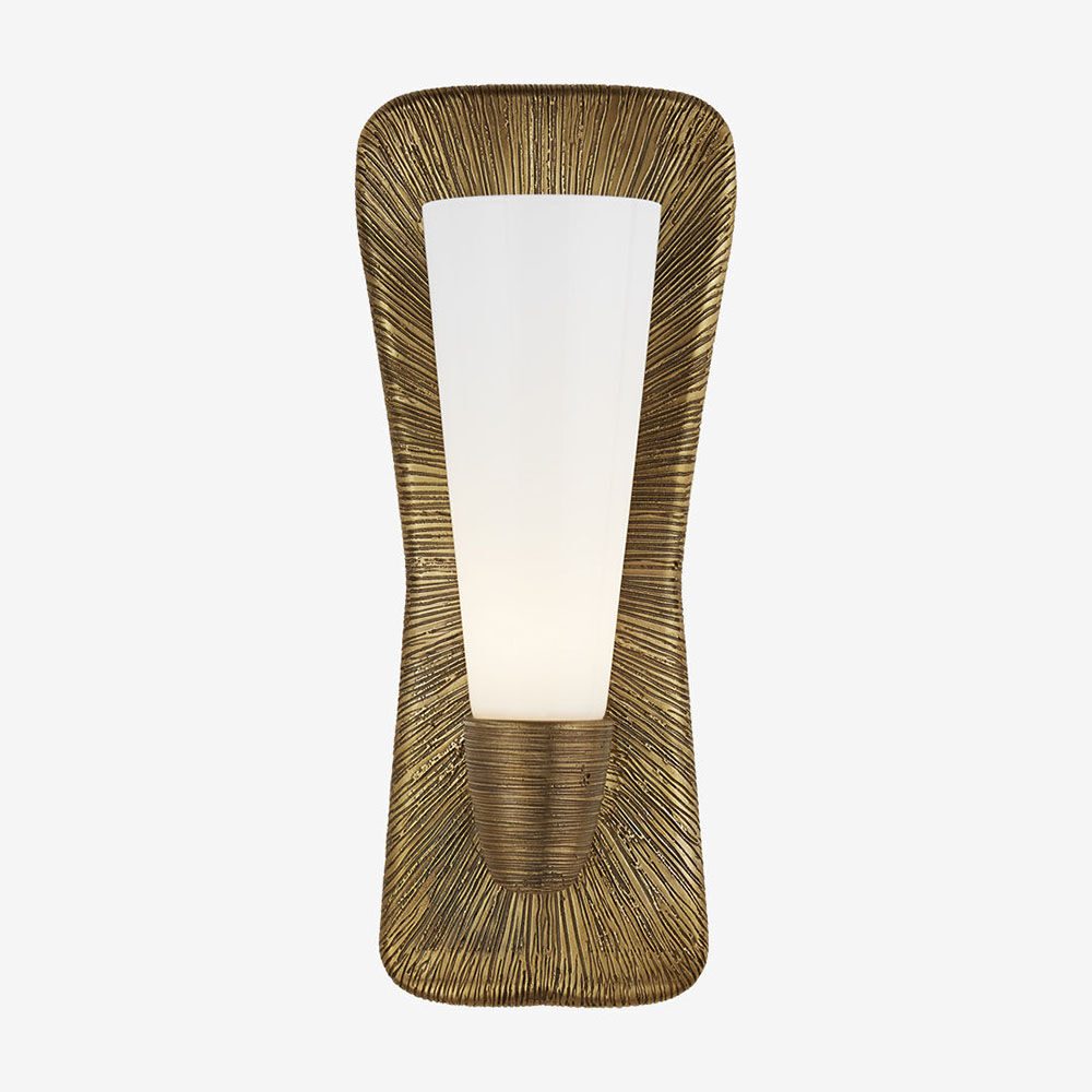 UTOPIA LARGE SINGLE BATH SCONCE