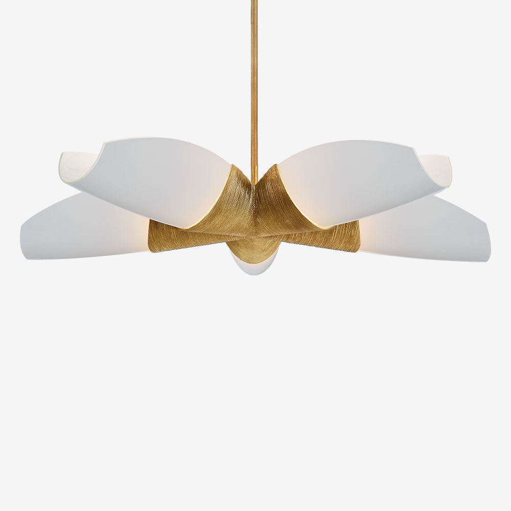 Utopia Medium Five Arm Chandelier