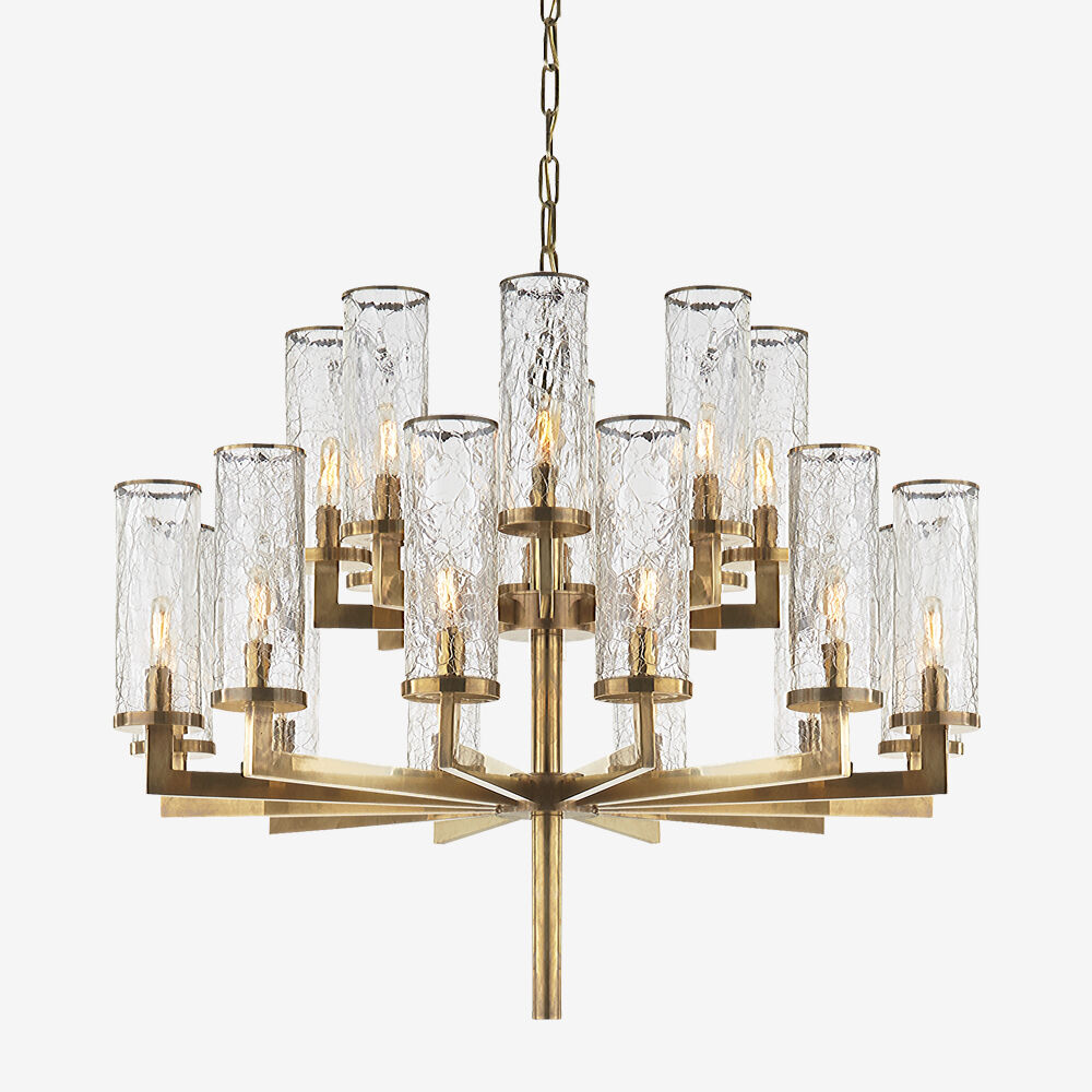 LIAISON DOUBLE TIER CHANDELIER