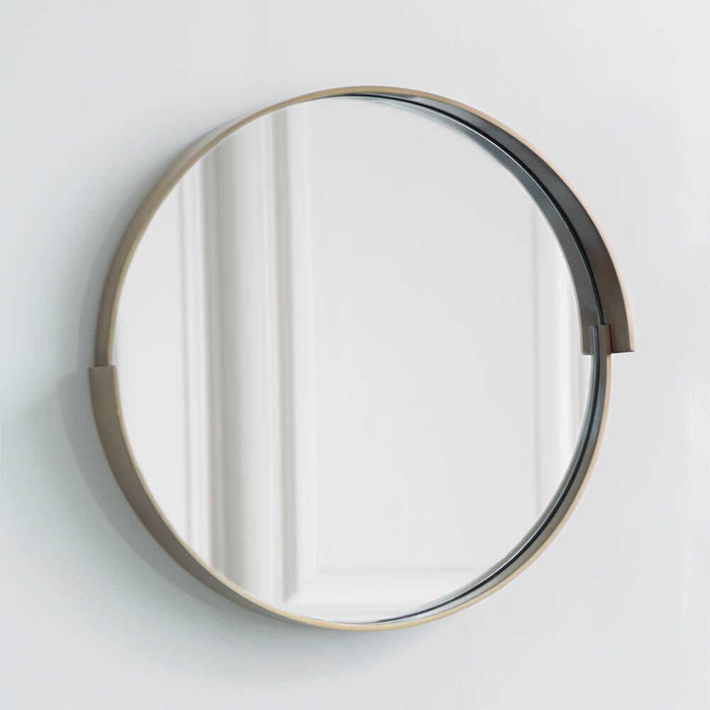 ALTA MIRROR - BURN BRASS