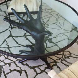 DICHOTOMY TABLE - OIL RUBBED