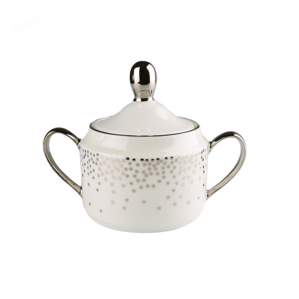 TROUSDALE SUGAR BOWL AND COVER