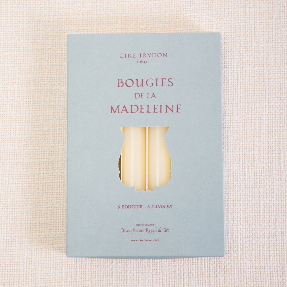 IVORY MADELEINE CANDLES