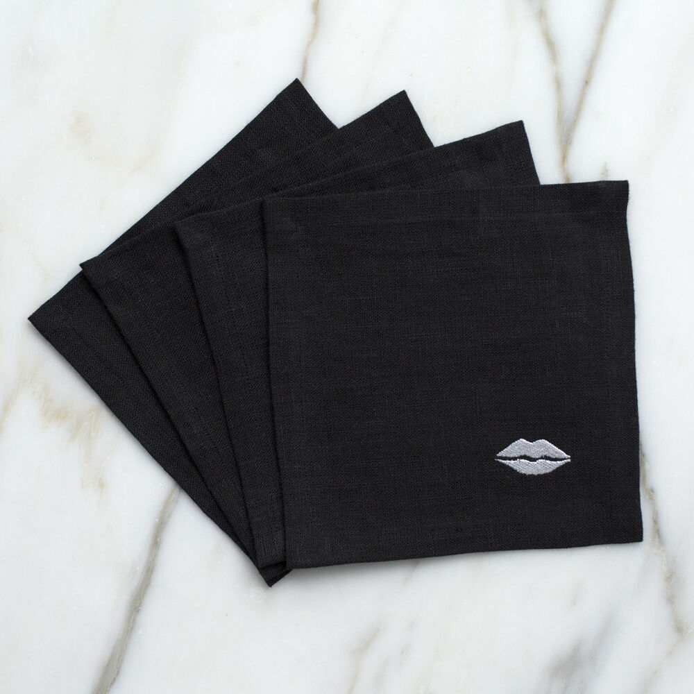 KISS COCKTAIL NAPKINS
