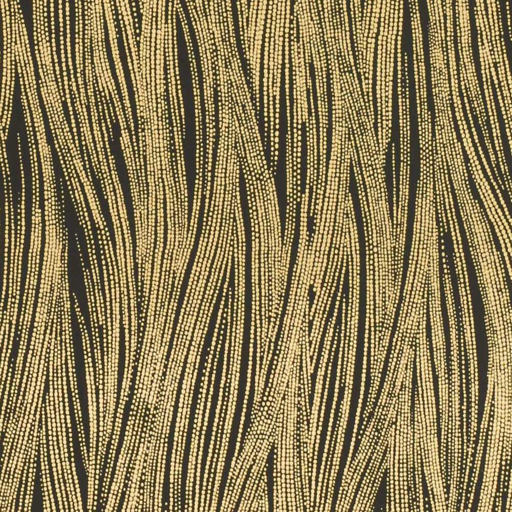 CURRENTS WALLPAPER -EBONY GOLD
