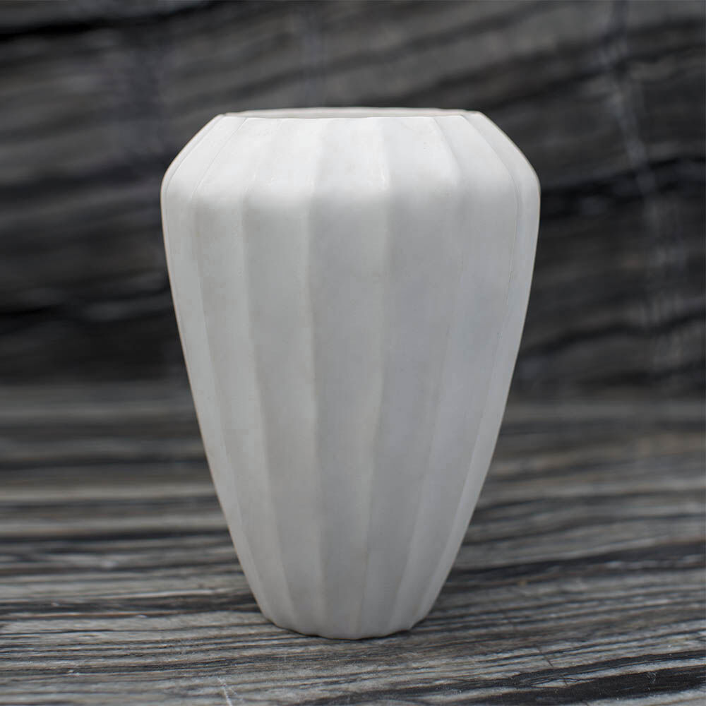 SMALL FLUTED VASE