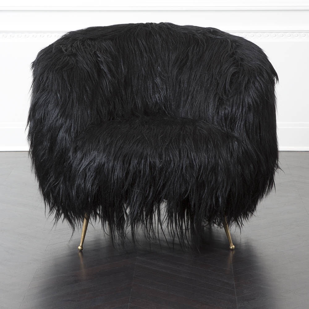 SOUFFLE CHAIR - GOAT HAIR