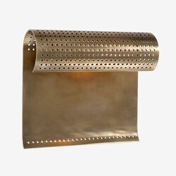 PRECISION SMALL SCONCE - BRASS