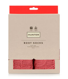 6 STICH CABLE BOOT SOCK