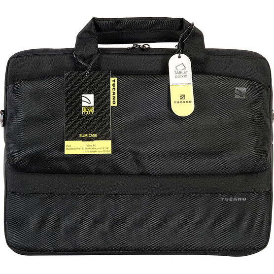 Tucano Dritta Slim Bag - Black - BDR1314