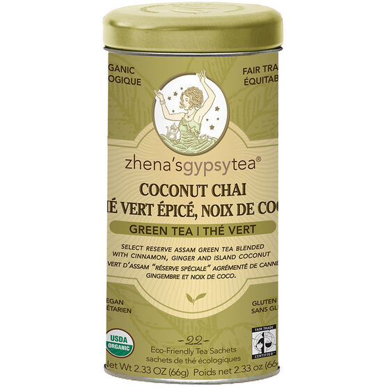 Zhena's Coconut Chai Green Tea - 22's