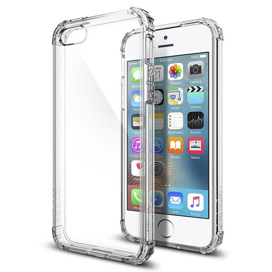 Spigen Crystal Shell Case for iPhone SE - Clear Crystal - SGP041CS20177