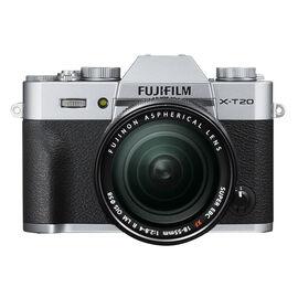 PRE-ORDER: Fujifilm X-T20 with 18-55mm XF Lens - Silver - 600018096