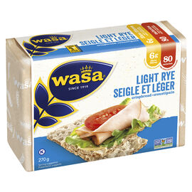 Wasa Light Rye Crispbread - 270g