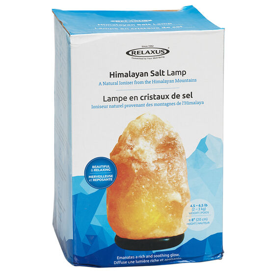 Relaxus Small Crystal Salt Lamp - L0151