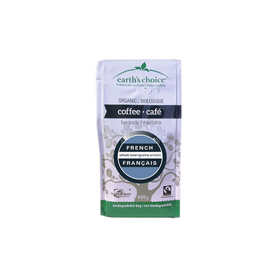 Earth's Choice Coffee - French Bistro Supreme Roast - 400g