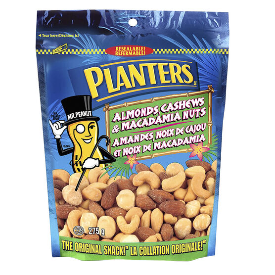 Planters Macadamia Cashew Mix With Almonds - 275g
