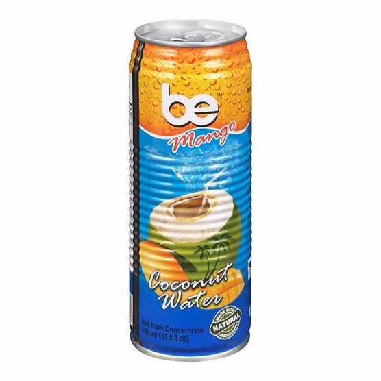 be Mango Coconut Water - 520ml