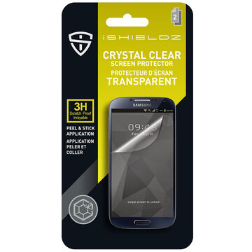 iShieldz Crystal Clear Screen Protector for Samsung GS5 - Clear - IS1GS5
