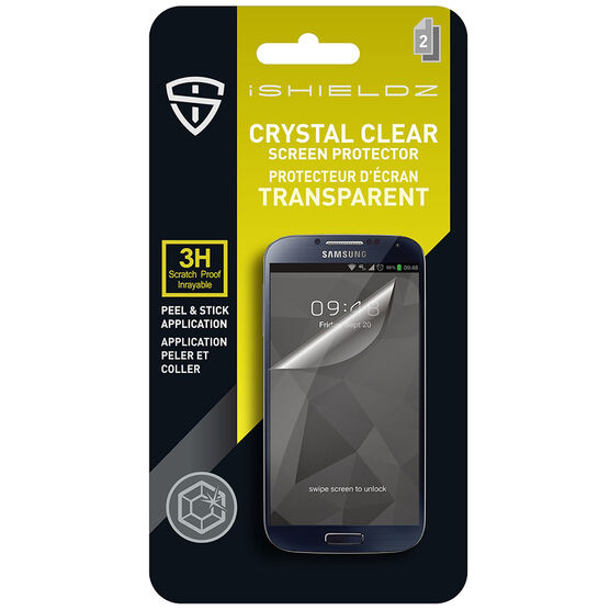 iShieldz Crystal Clear Screen Protector for Samsung GS5- Clear - IS1GS5