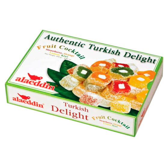 Alaeddin Turkish Delight - Fruit - 250g