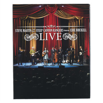 Steve Martin And The Steep Canyon Rangers - Live Featuring Edie Brickell -  CD + Blu-ray
