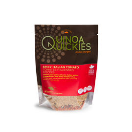 Quinoa Quickies - Spicy Italian Tomatoes - 165g