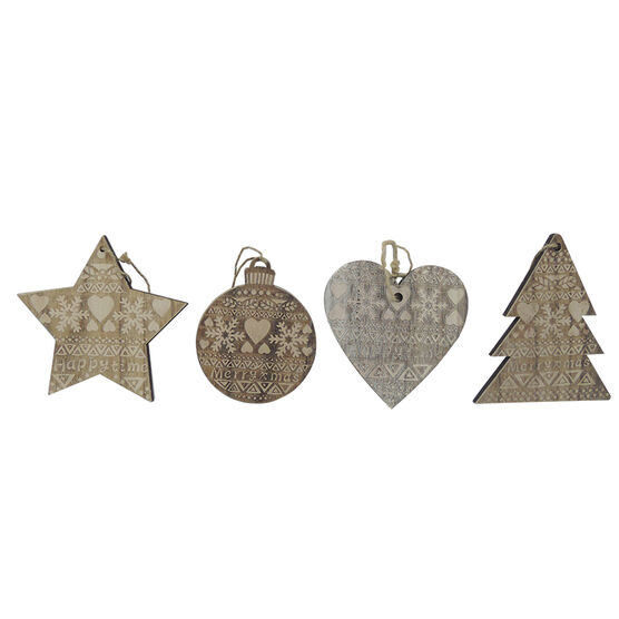 Rustic Ornament - CT5216-56AS1 - Assorted
