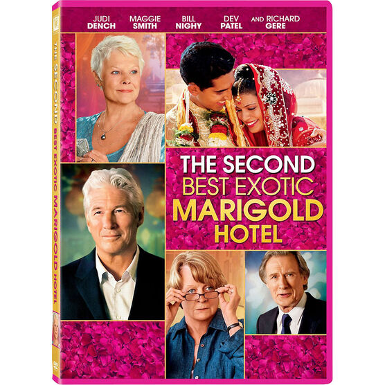 The Second Best Exotic Marigold Hotel - DVD
