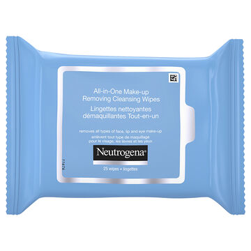 Neutrogena All-in-One Make-Up Removing Cleansing Wipes - 25's