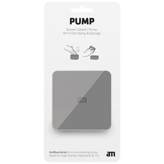 AM Pump All-In-One Spray & Sponge - Grey - 100ml - AM 85521-12