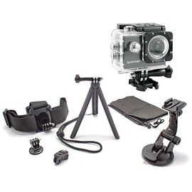 Safari 2 POV Action Camera with Optex 6-in-1 Accessory Kit - PKG 24754