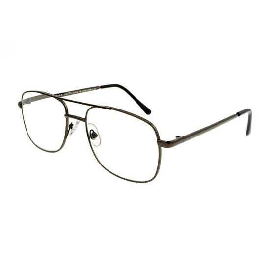 Foster Grant RR 51 Reading Glasses - Gunmetal - 1.50