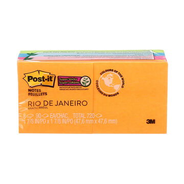 3M Post IT Notes - 2x2inch - 8's