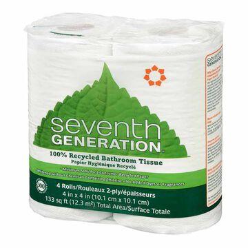 Seventh Generation Bathroom Tissue - 4's