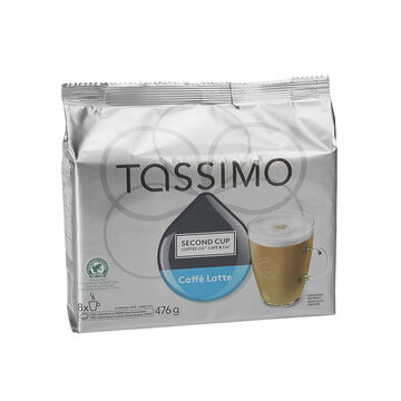 Tassimo Second Cup Caffe Latte - 8 servings